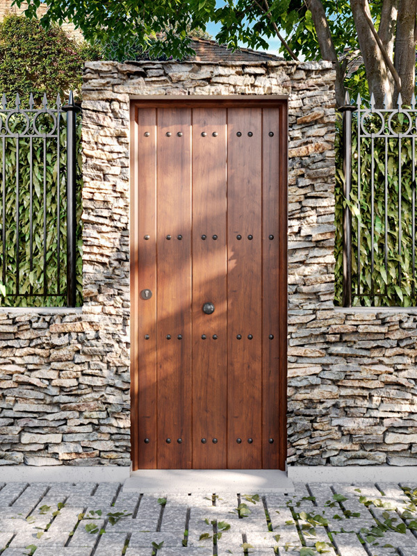 Puerta de exterior 01